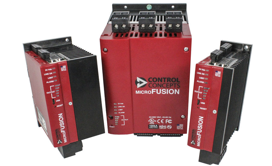 Control Concepts Inc. MicroFUSION high-performance digital SCR controller