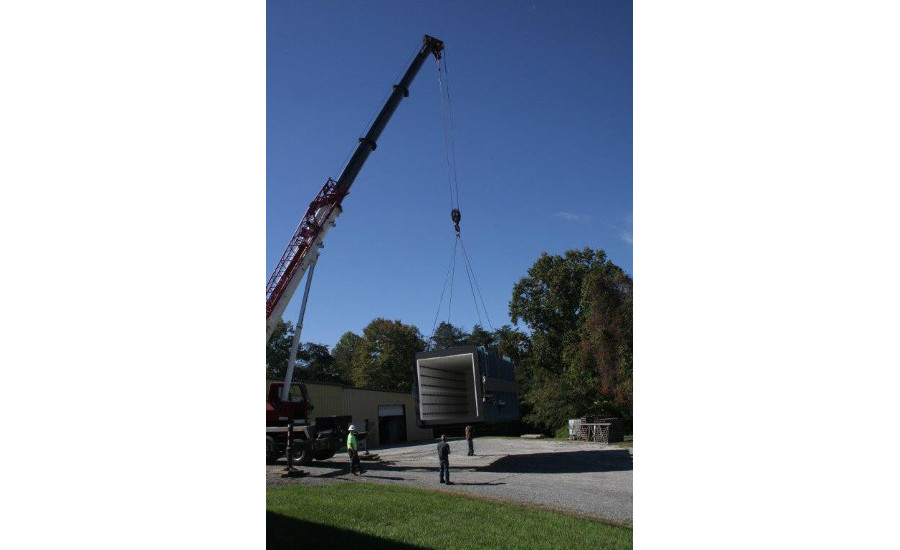 Thermcraft Inc. box furnace installation