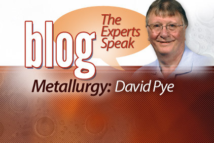 David Pye - Metallurgy