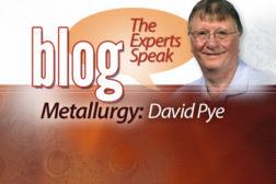 David Pye - Metallurgy
