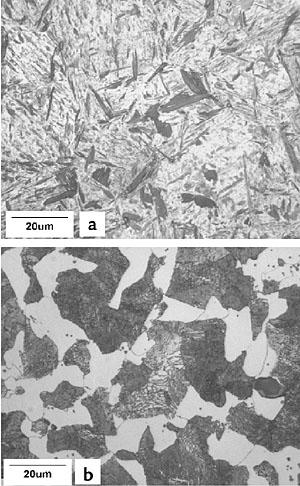 Coarse Pearlite Microstructure Fig 1 Microstructures observedFine Pearlite