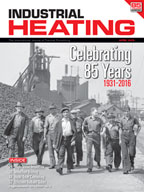 Industrial Heating April 2016 Cover