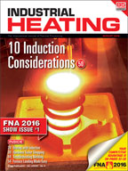 Industrial Heating August 2016 Cover