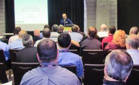 Reed Miller speaking at FNA