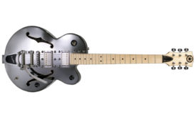 An aluminum guitar is an example of a nonferrous object