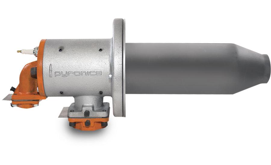 High Velocity Burner Designed For High Temperatures 2016
