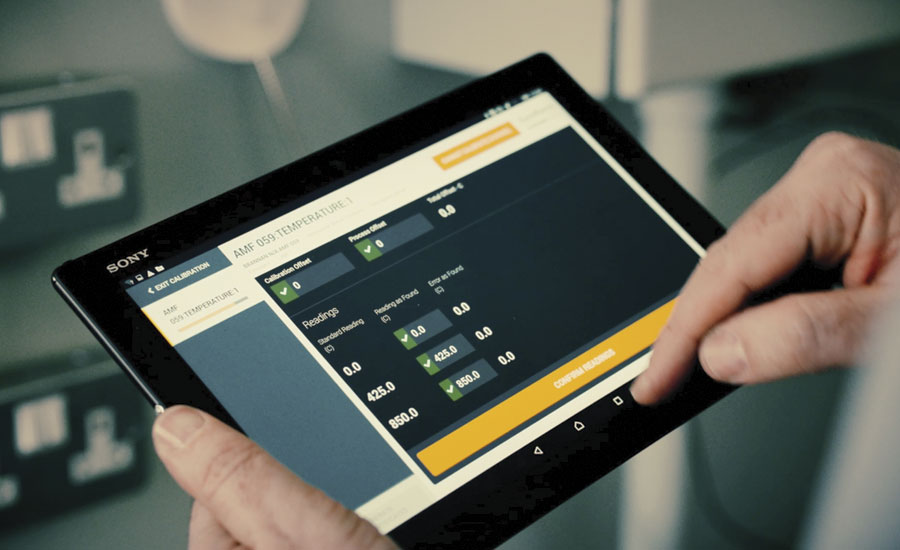ECat tablet app