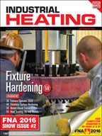 Industrial Heating September 2016 Cover