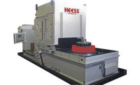 HEESS fixture-hardening machine SP1500 for large components