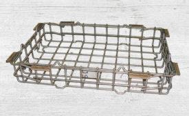Typical wire bar heat-treat basket
