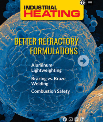 Industrial Heating February 2021 Cover