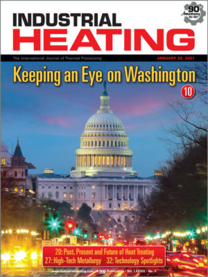 Industrial Heating January 22 2021 Cover