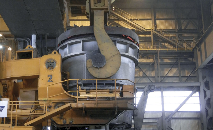 Tundish Mold Powder : A closer look jumbo bloom vertical caster at timkensteel
