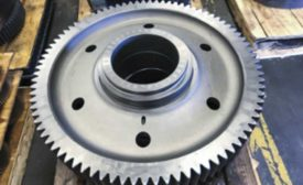 Carburized bull gear