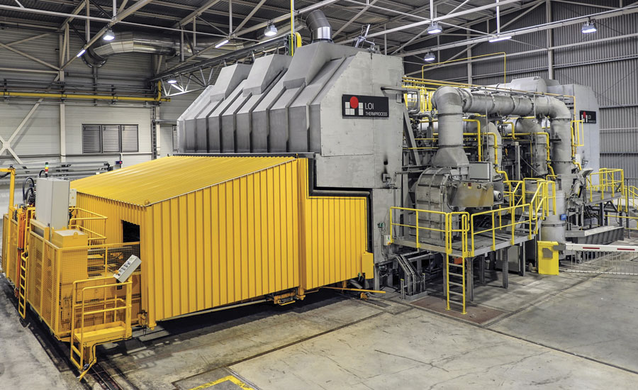 Twin-chamber melting furnace (TCF)
