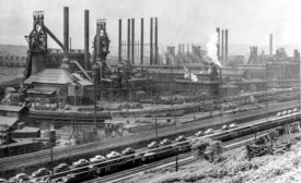 The Carrie Furnaces circa 1950