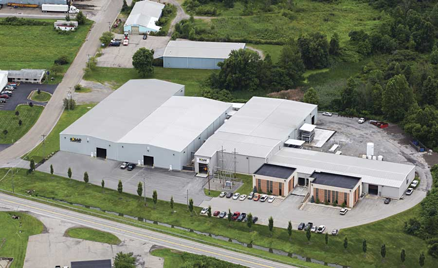 Solar Atmospheres' facility in Western PA