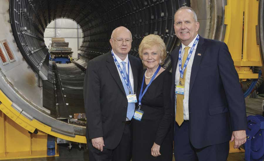 Solar Atmospheres' CEO/Owners William Jones and Myrtle Jones and President Bob Hill