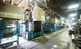 Metex Heat Treating Ltd. based in Brampton, Ontario