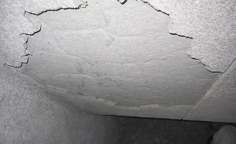 Excessive cracking is a consequence of poor installation