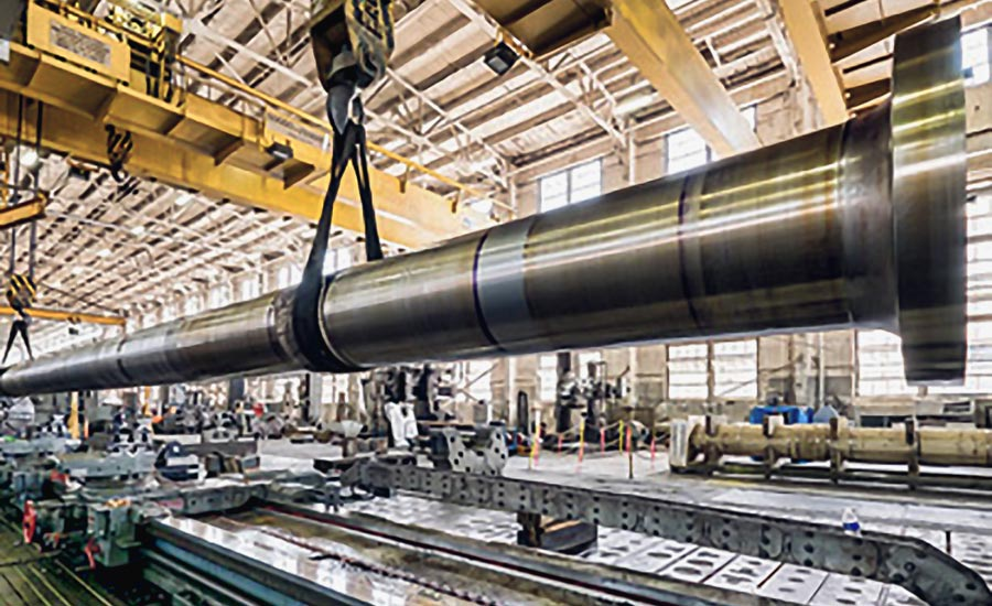 Marine Shafting at Collins Machine