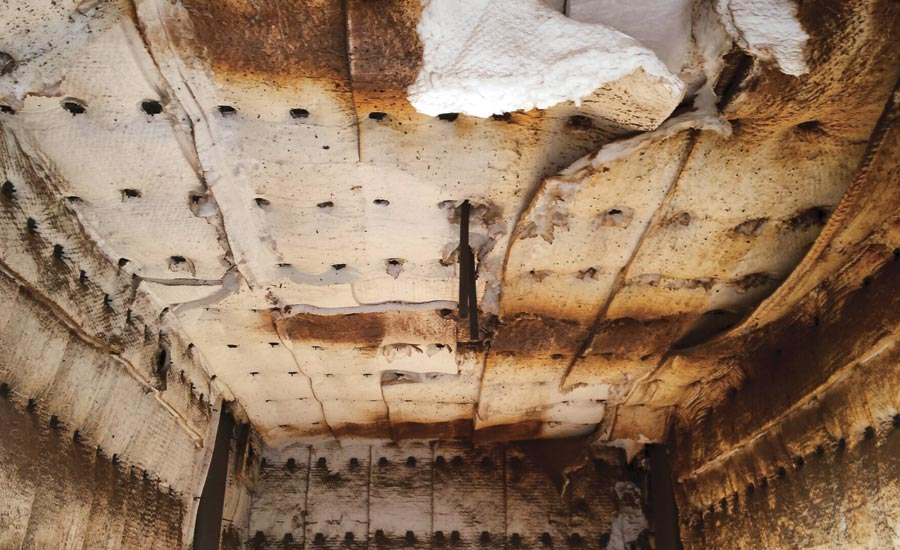 Options For Complete  Partial Refractory Relining In Older Furnaces