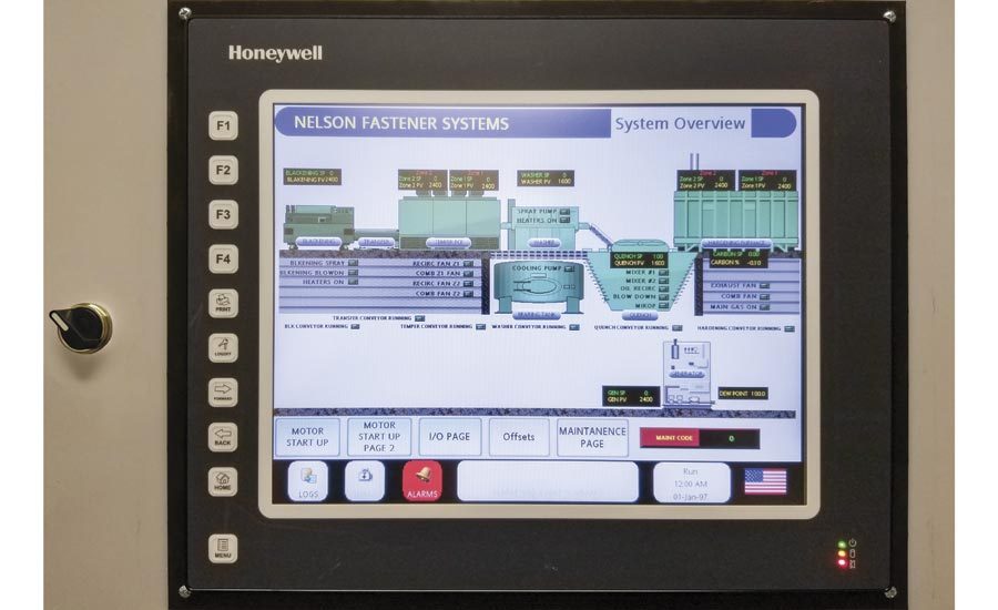 Honeywell Thermal Processing Control System