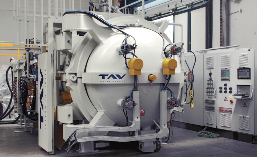 Diffusion-Bonding Furnace From TAV Vacuum Furnaces