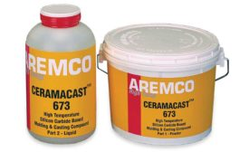 Aremco Products Ceramacast 673 Ceramic Molding and Casting Compound