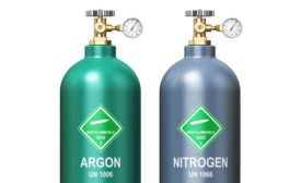 Canisters of Argon and Nitrogen