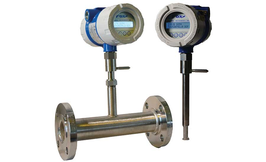 Fox Model FT4X Thermal Mass Flow Meter