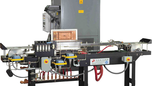 Continuous Belt Furnace for Brazing