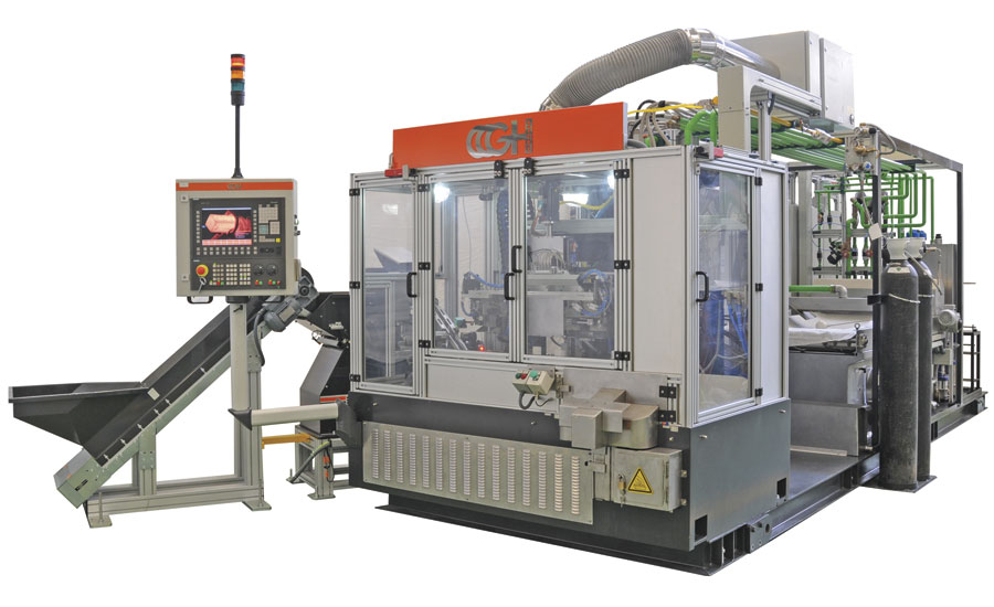 Fully automatic ball-stud induction hardening