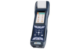 E Instruments combustion gas and emissions analyzer