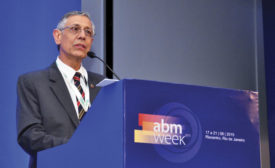 Horacídio Leal Barbosa Filho, president of the Executive Board of ABM,
