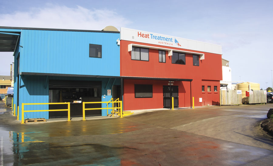 Heat Treatment Australia facility