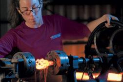 forging beauty woman blacksmith