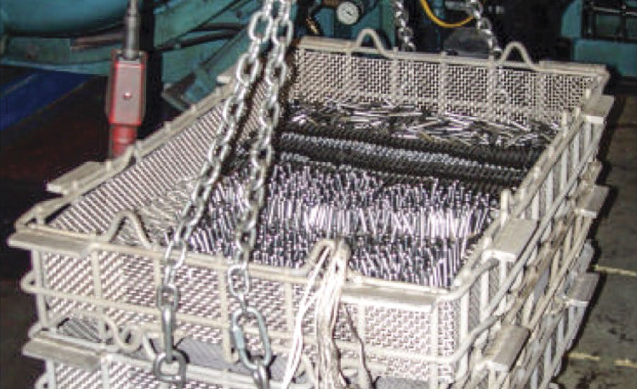 Baskets used for high-speed tool-steel bits