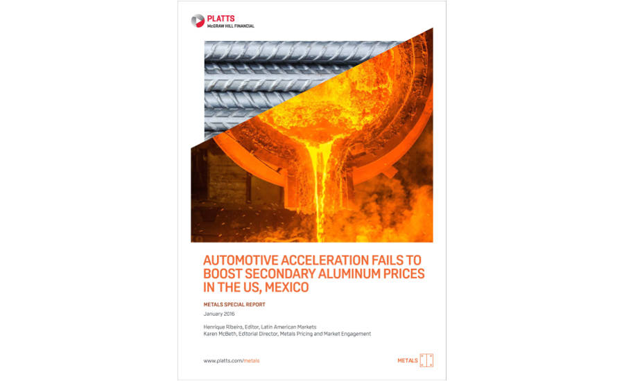Automotive Acceleration Fails to Boost Secondary Aluminum Prices in U.S., Mexico Cover