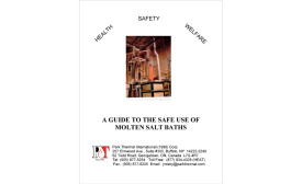 White Paper, A Guide to the Safe Use of Molten Salt Baths Cover