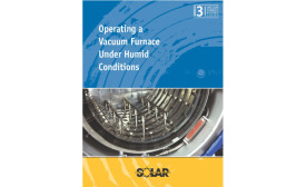 White Paper, Operating a Vacuum Furnace Under Humid Conditions