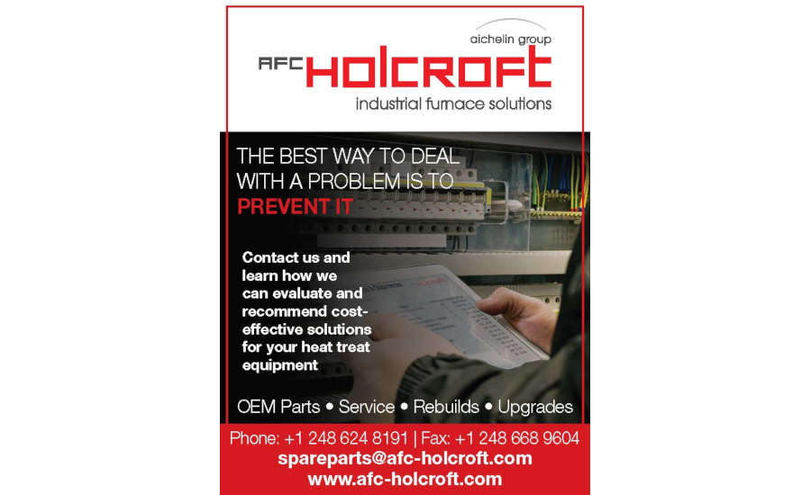 AFC-Holcroft Industrial Furnace Solutions