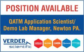 QATM Application Scientist/ Demo Lab Manager