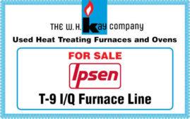 FOR SALE: Ipsen T-9 I/Q Furnace Line