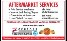 Custom High Temperature Vacuum Furnace Aftermarket Services