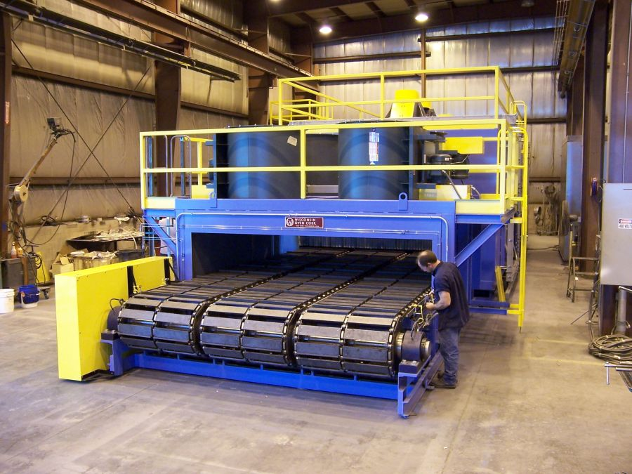 Wisconsin Oven Slat Chain Conveyor Oven