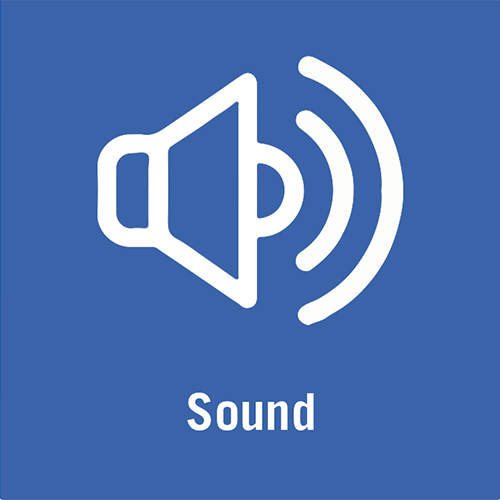 Video sound icon.